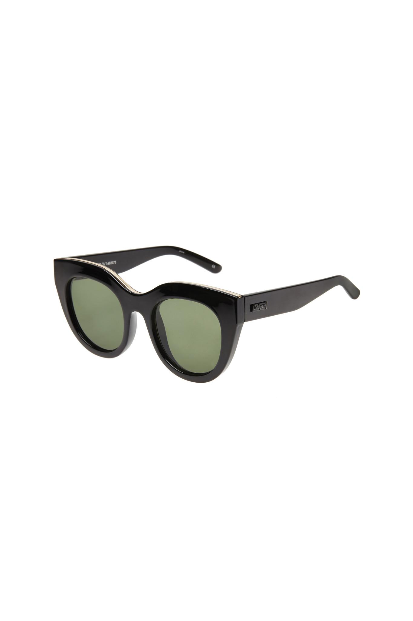 Air Heart Sunglasses - Black-5