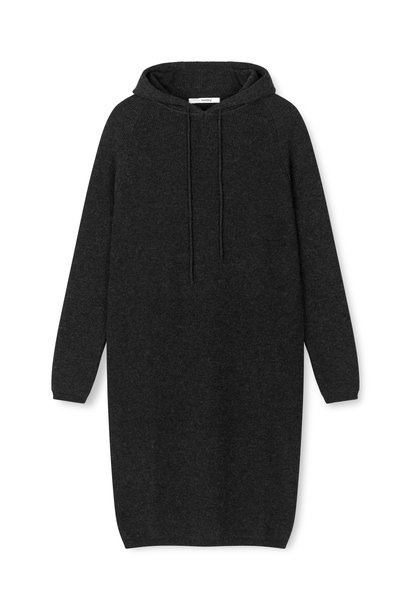 Torino Hoodie Dress - Anthracite