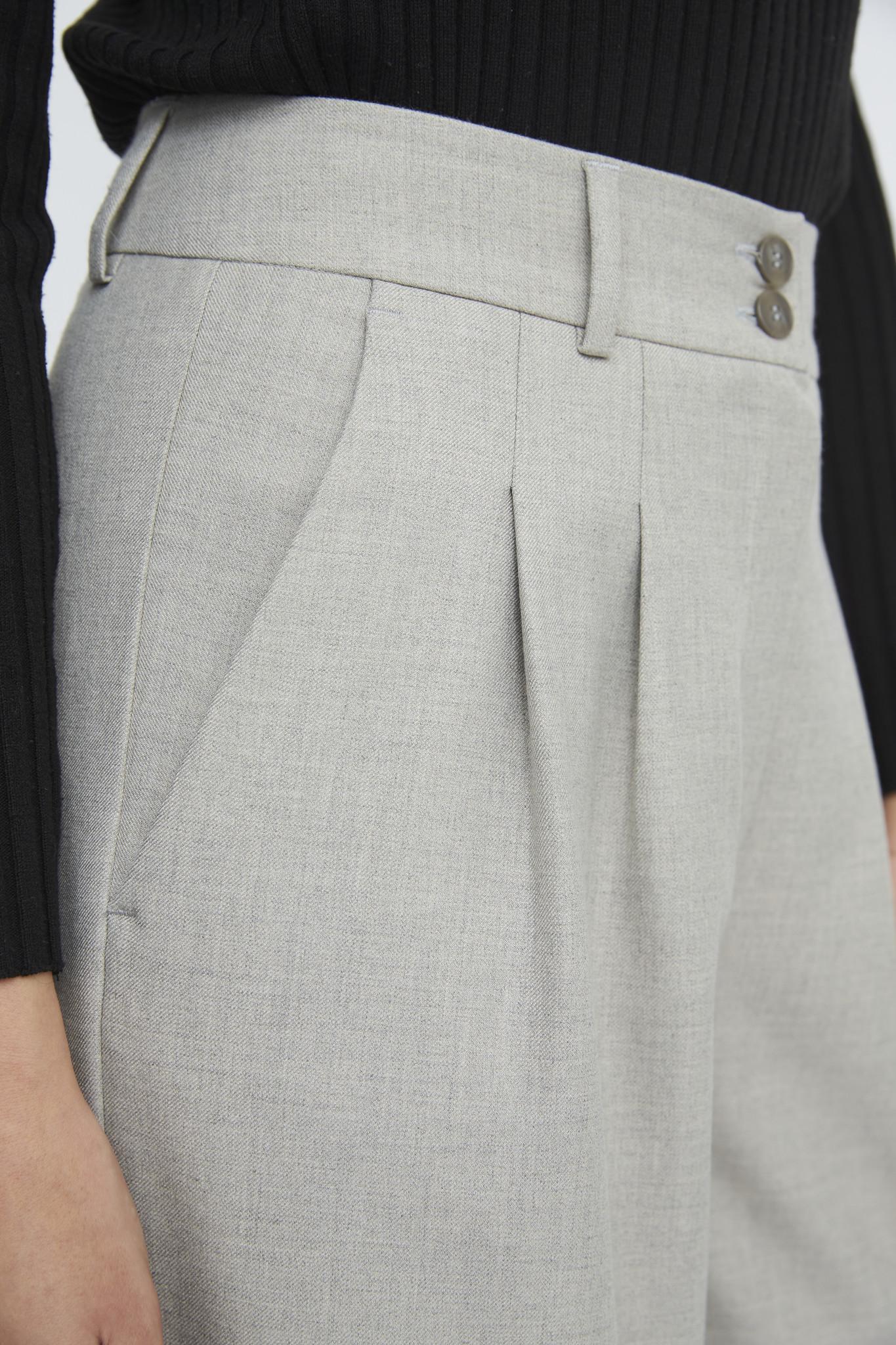 Karen 555 Wide Trouser - Misty Grey-6