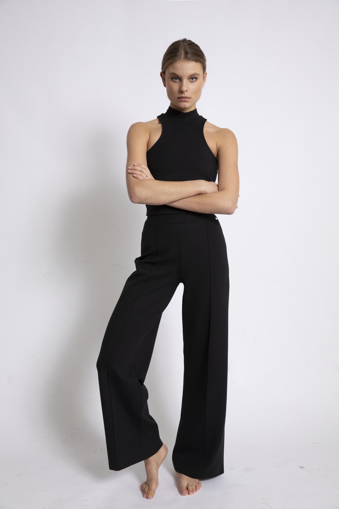 Donna Flare Pant - Black-1