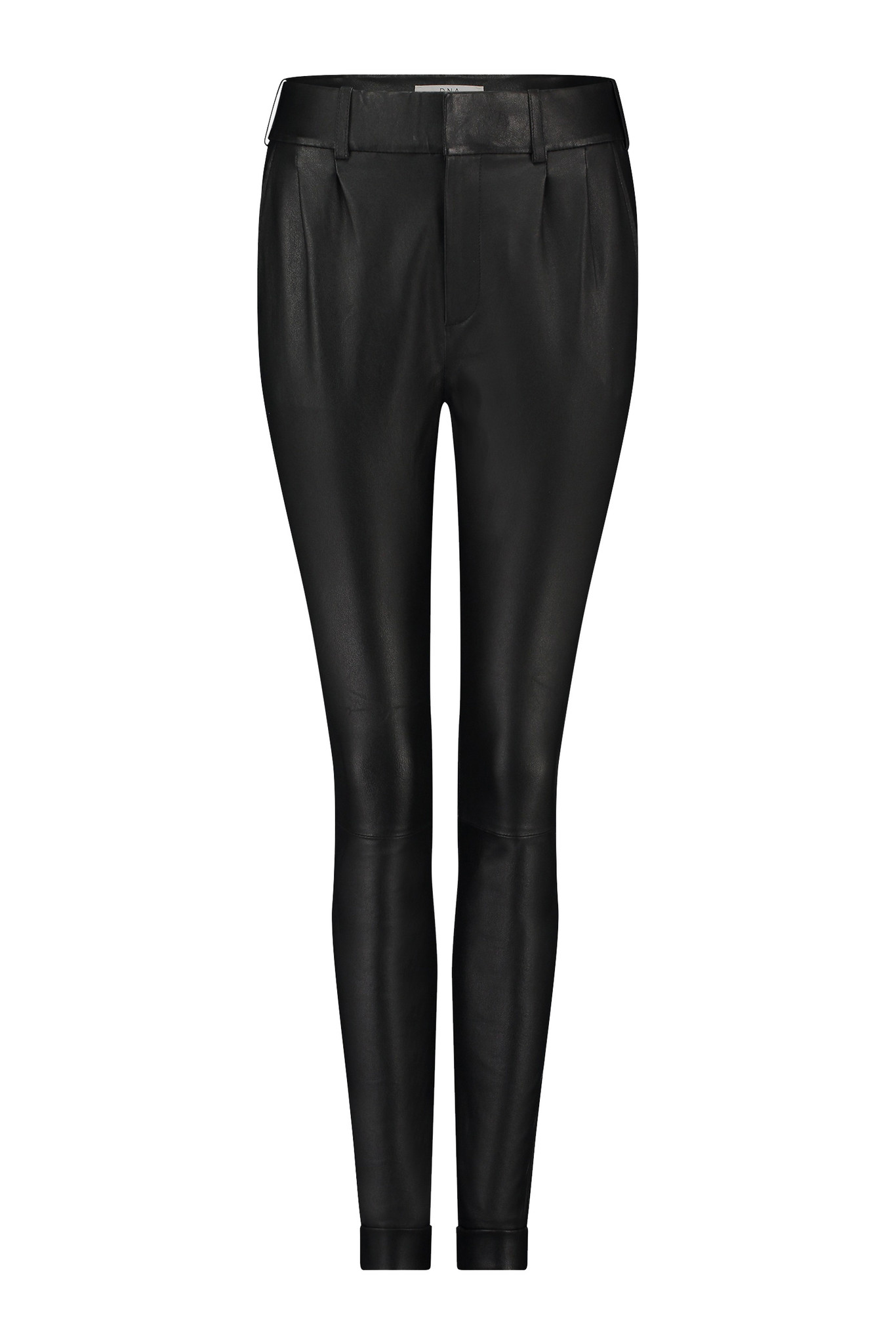 Pera Leather Pant - Black-1