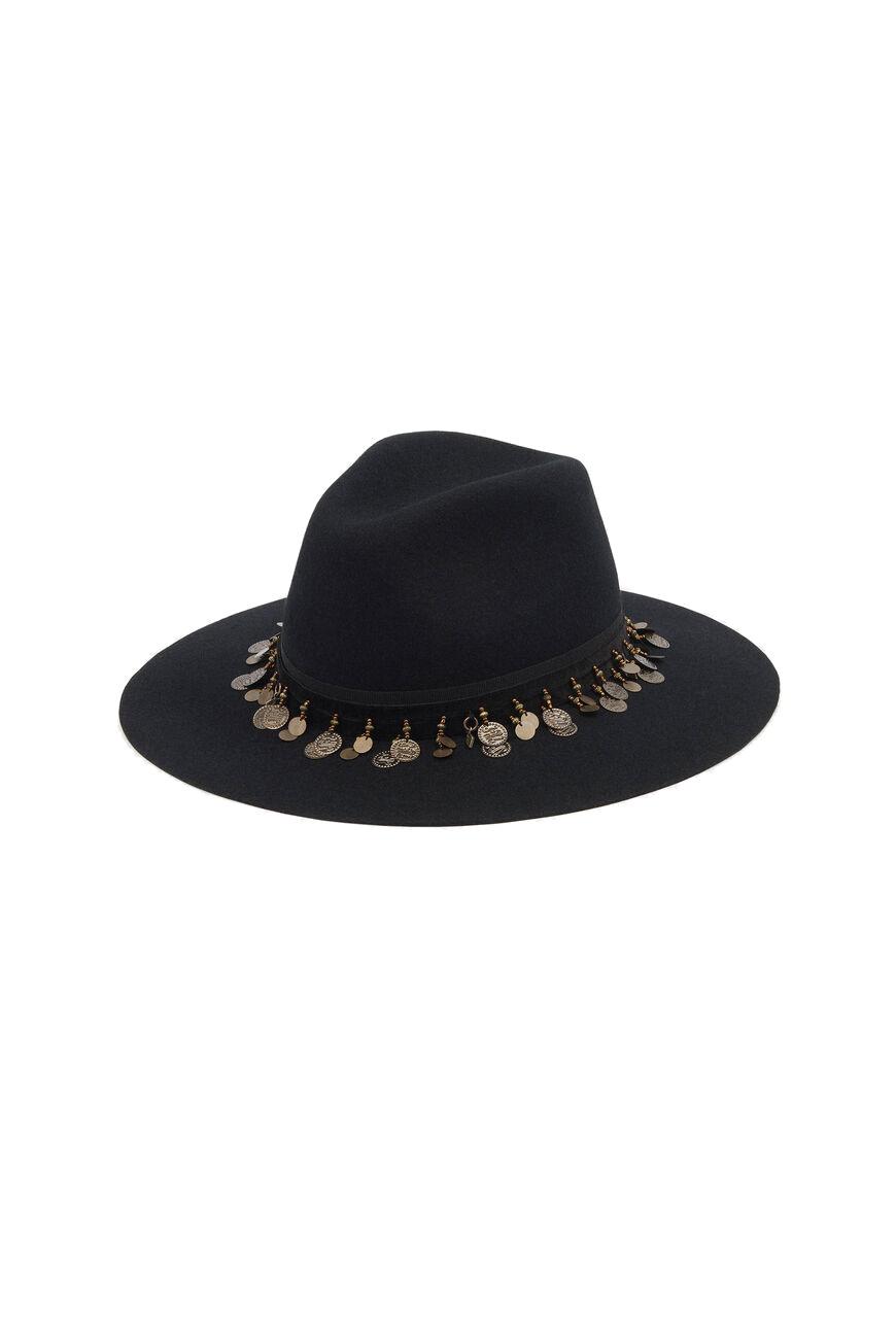 Hugo Hat - Black-1