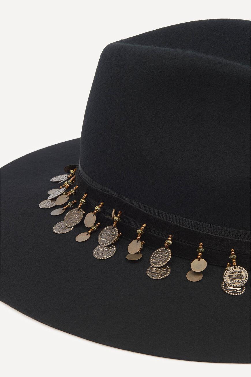 Hugo Hat - Black-2