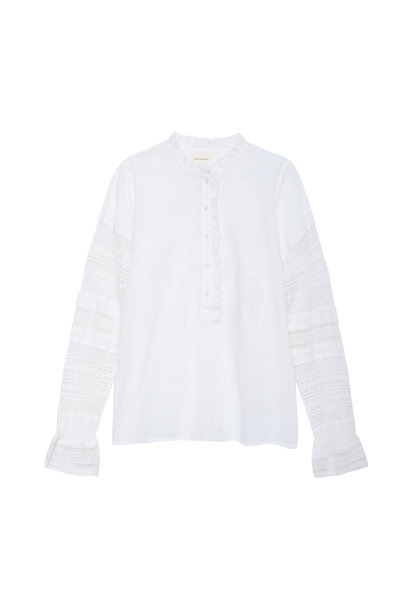 Virginie Blouse - Romantique Off White