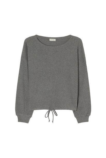 Riricake Sweater - Charcoal Melange