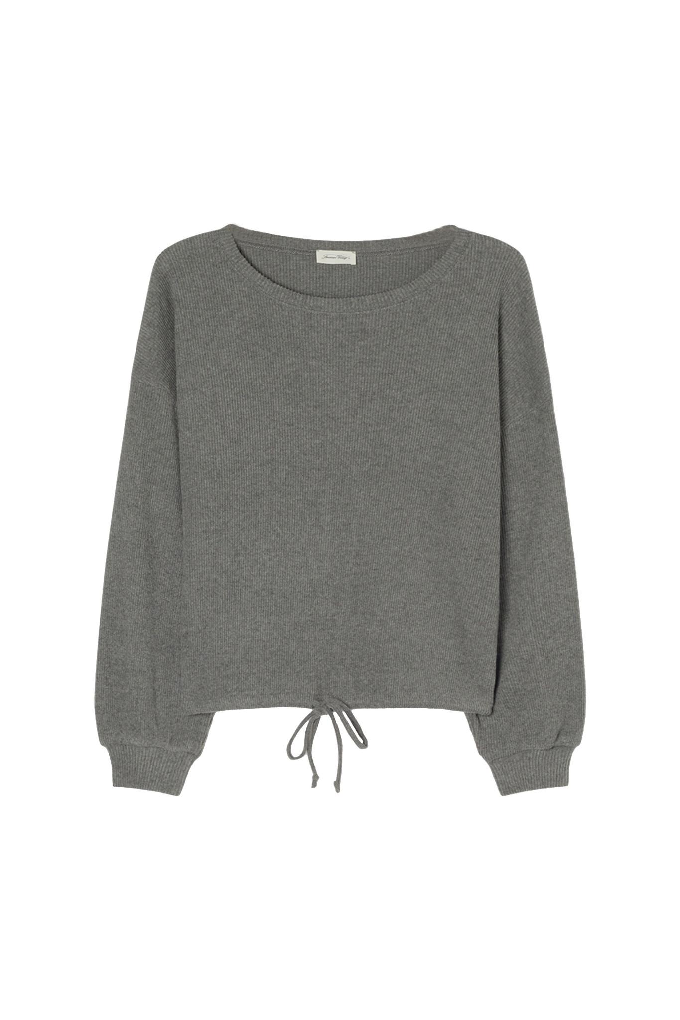 Riricake Sweater - Anthracite Chine-1