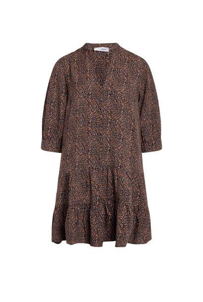 Bea Button Dress - New Blue