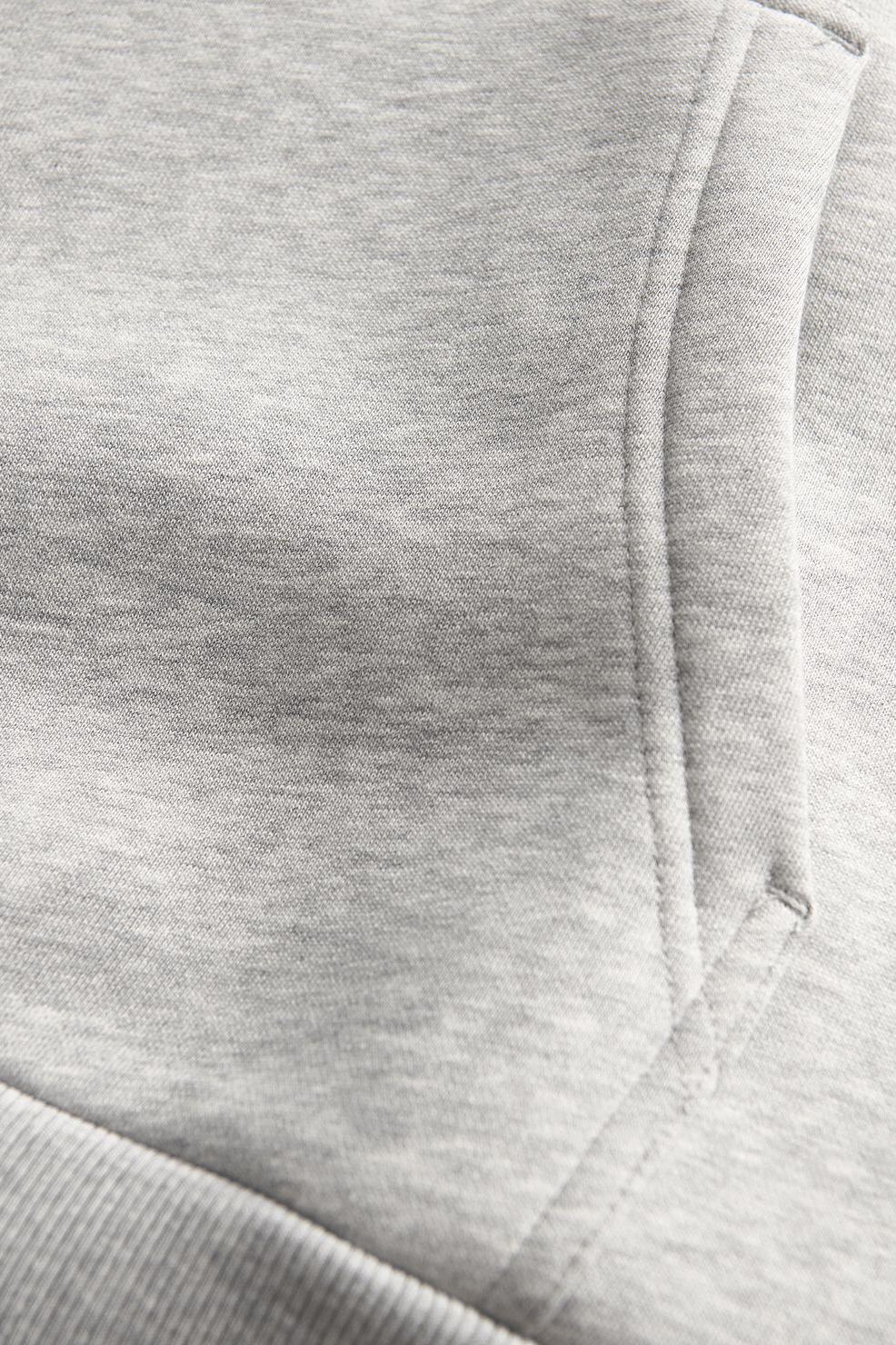 M Original Hood - Med Grey Melange-4