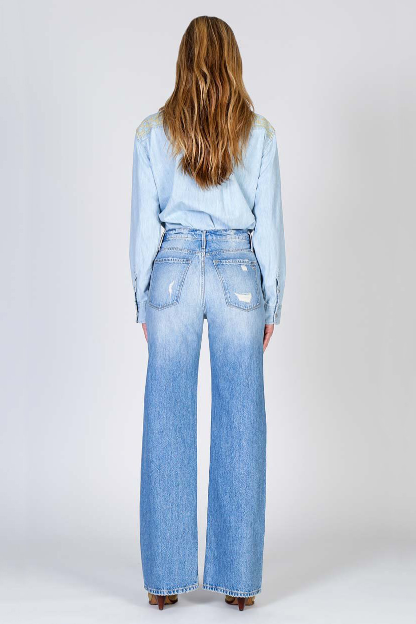 Riley High Rise Relaxed Jeans - Hypnotize-5