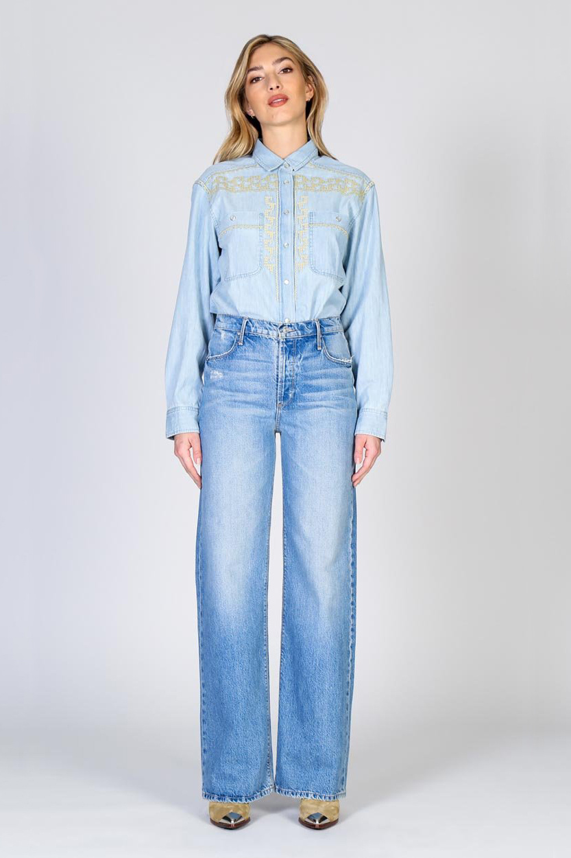 Riley High Rise Relaxed Jeans - Hypnotize-4