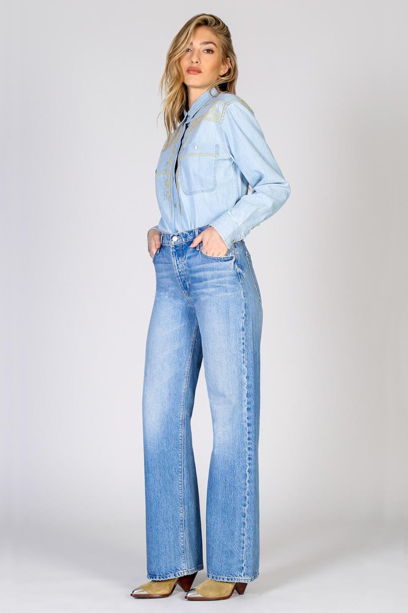 Riley High Rise Relaxed Jeans - Hypnotize-2
