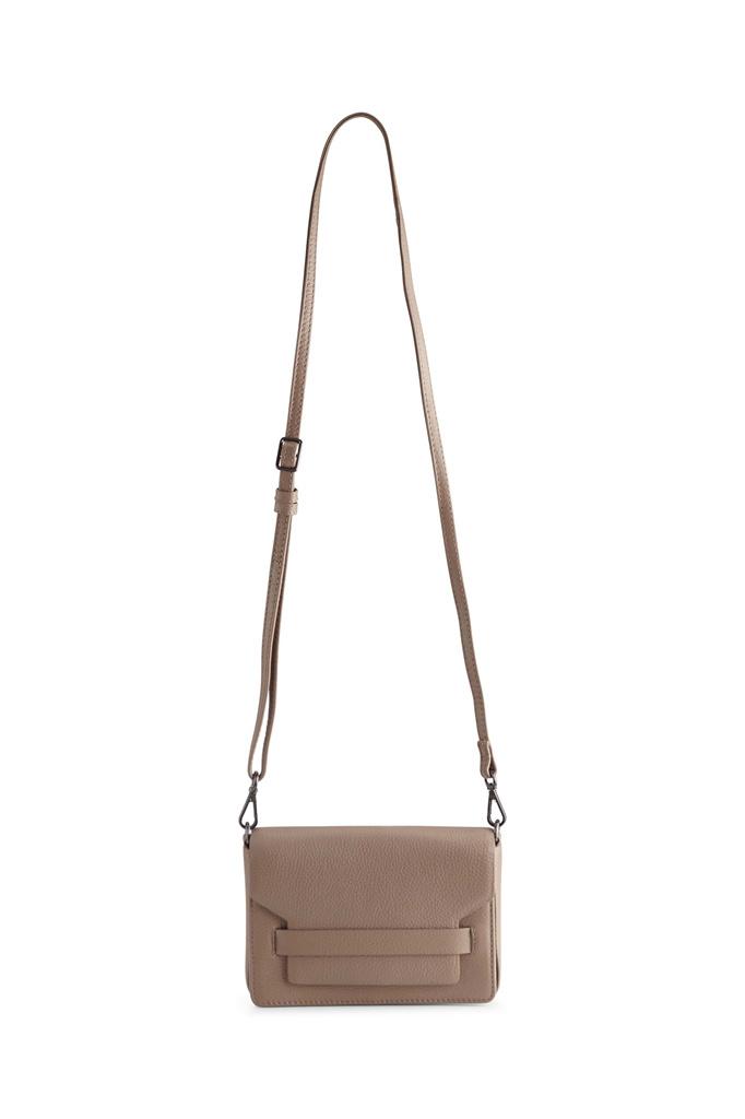 Vanya Crossbody Bag Grain - Latte-5