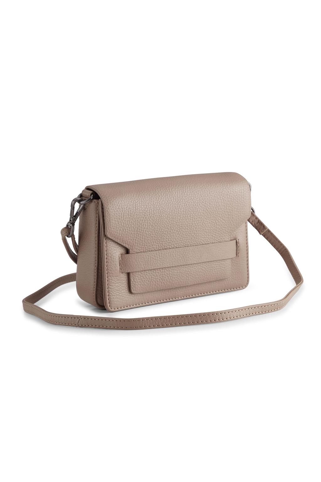 Vanya Crossbody Bag Grain - Latte-2