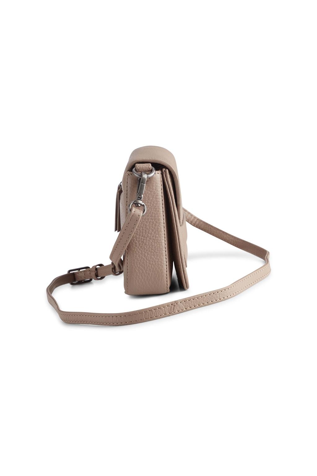 Vanya Crossbody Bag Grain - Latte-3
