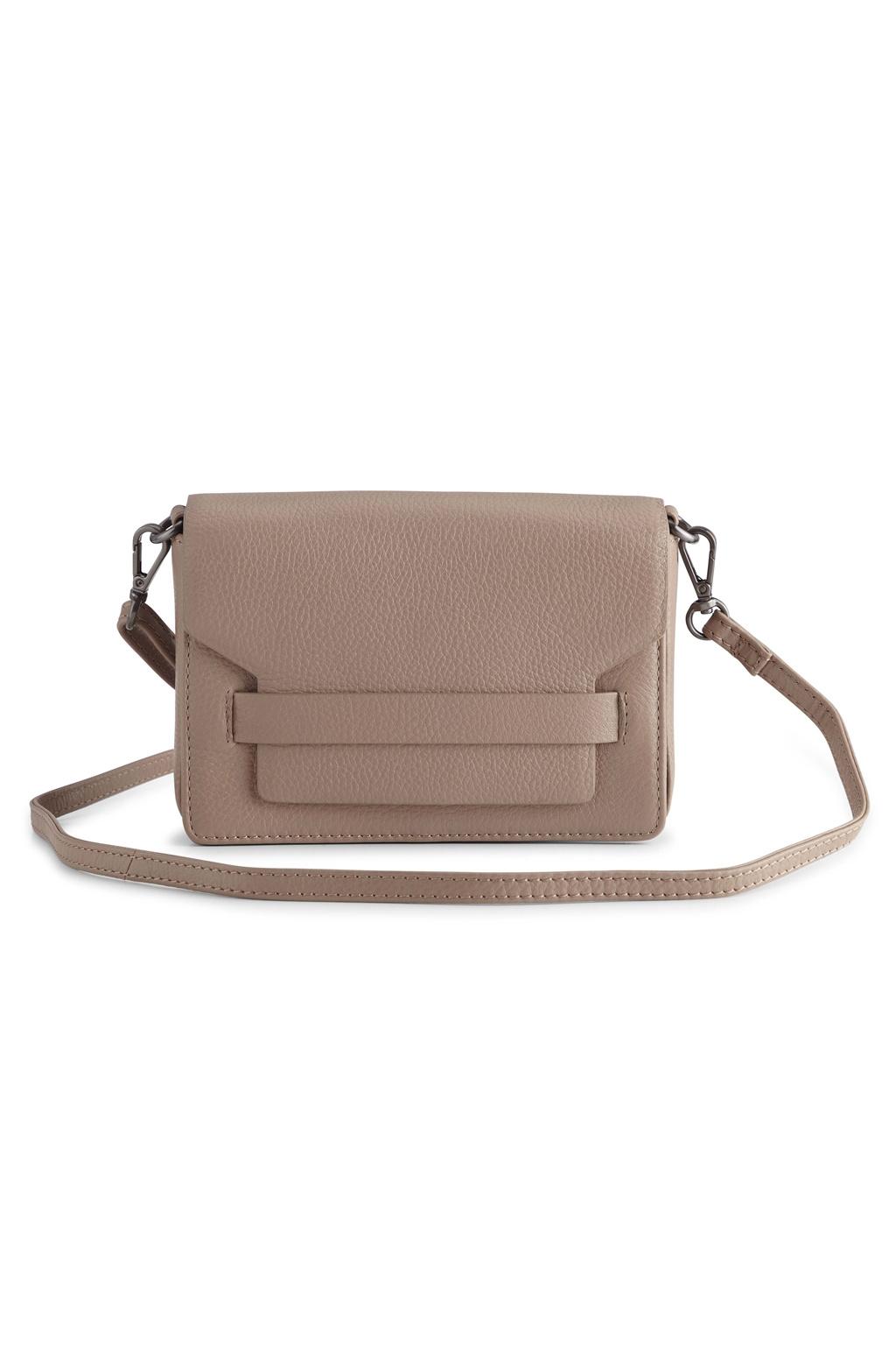 Vanya Crossbody Bag Grain - Latte-1