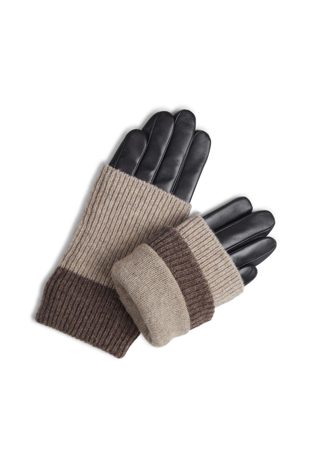 Helly Glove - Black w/ Creme + Hazel-3