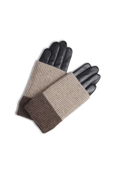 Helly Glove - Black w/ Creme + Hazel