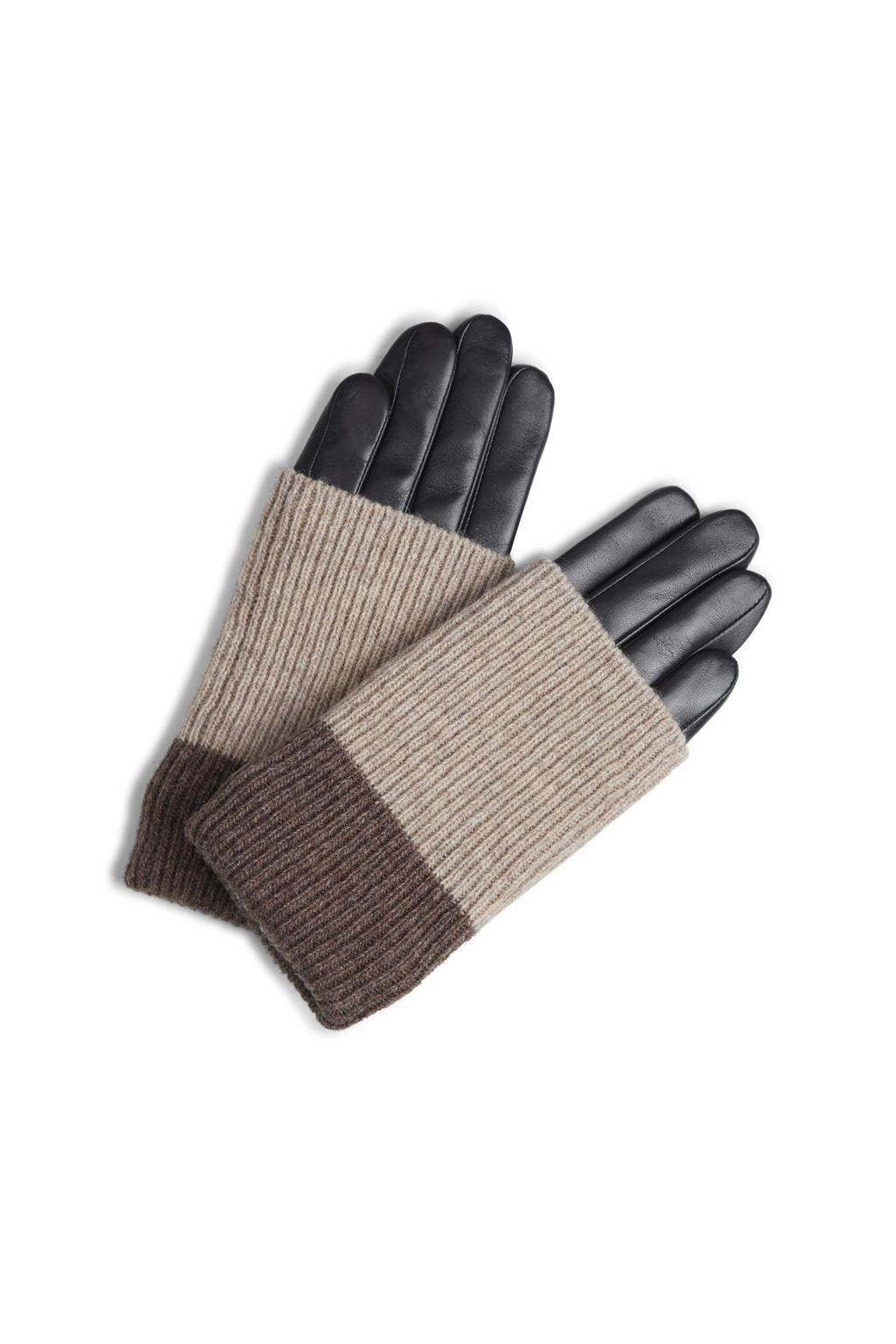 Helly Glove - Black w/ Creme + Hazel-1