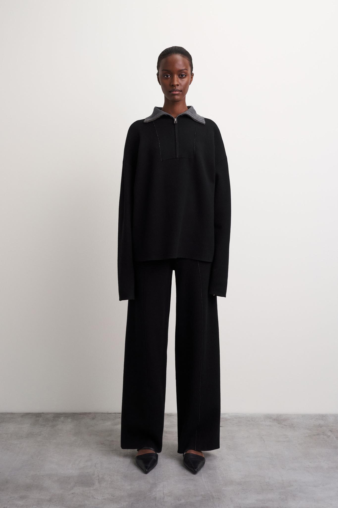 Griet Pullover - Black-5