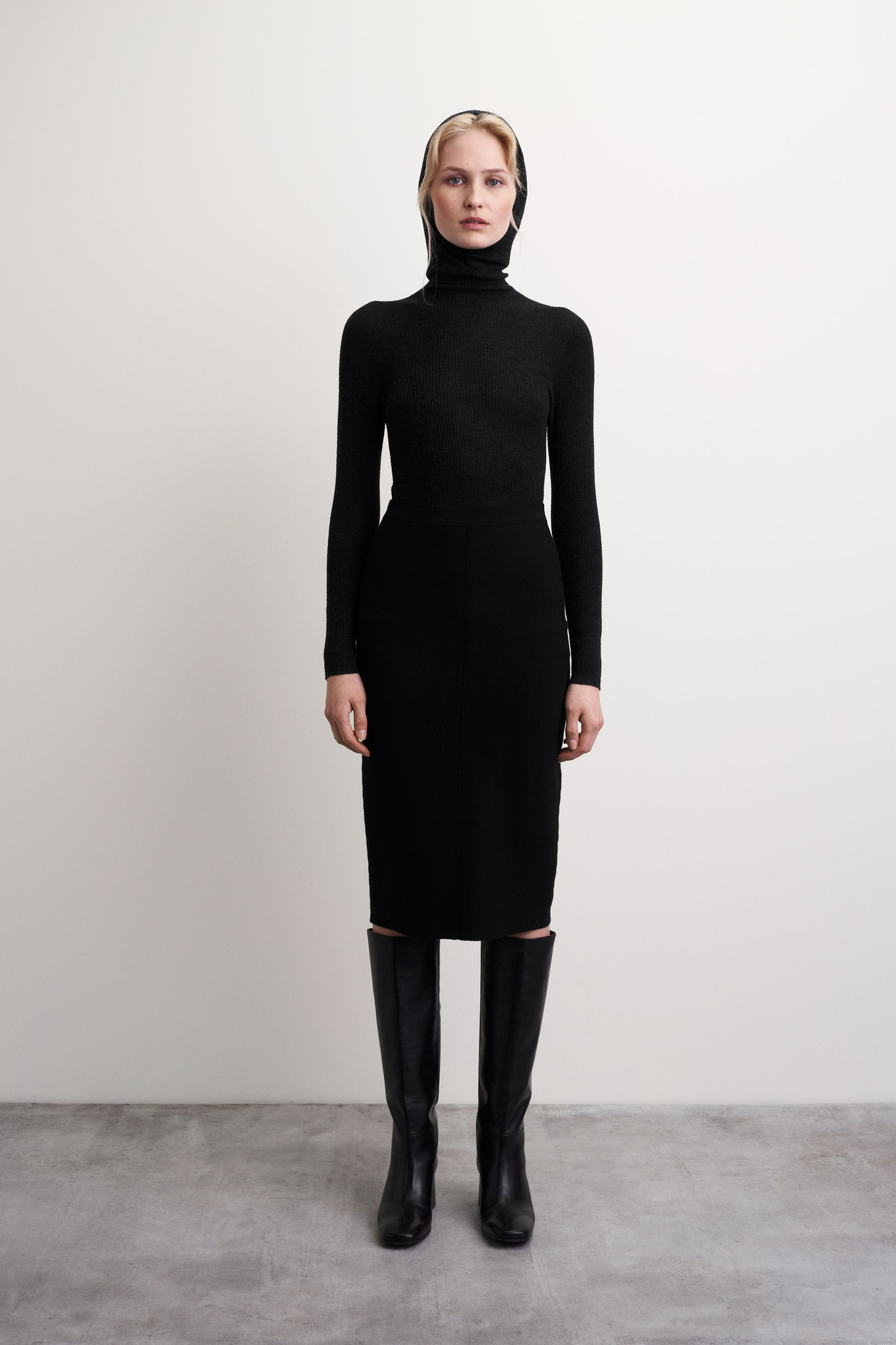 Karinna Skirt - Black-5