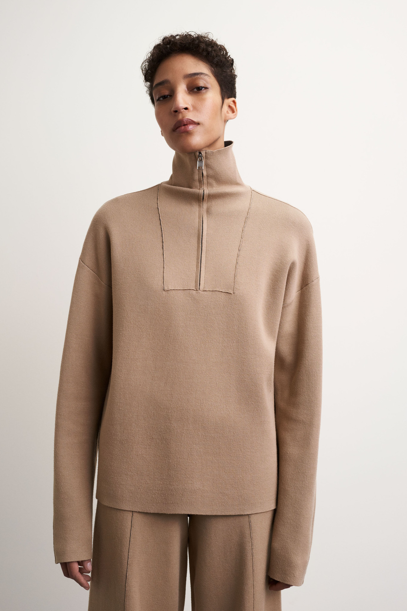 Griet Pullover - Moon Stone-1