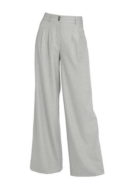 Karen 555 Wide Trouser - Misty Grey