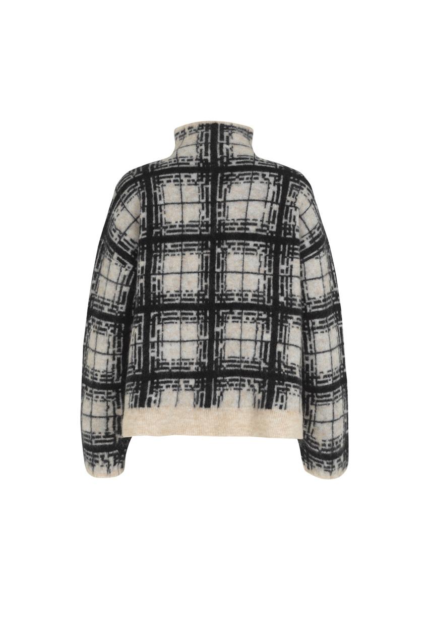 Louisa Knit T-Neck - Black-8