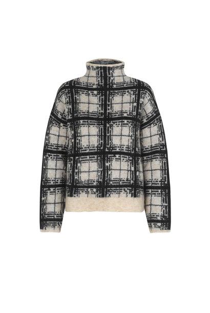 Louisa Knit T-Neck - Black