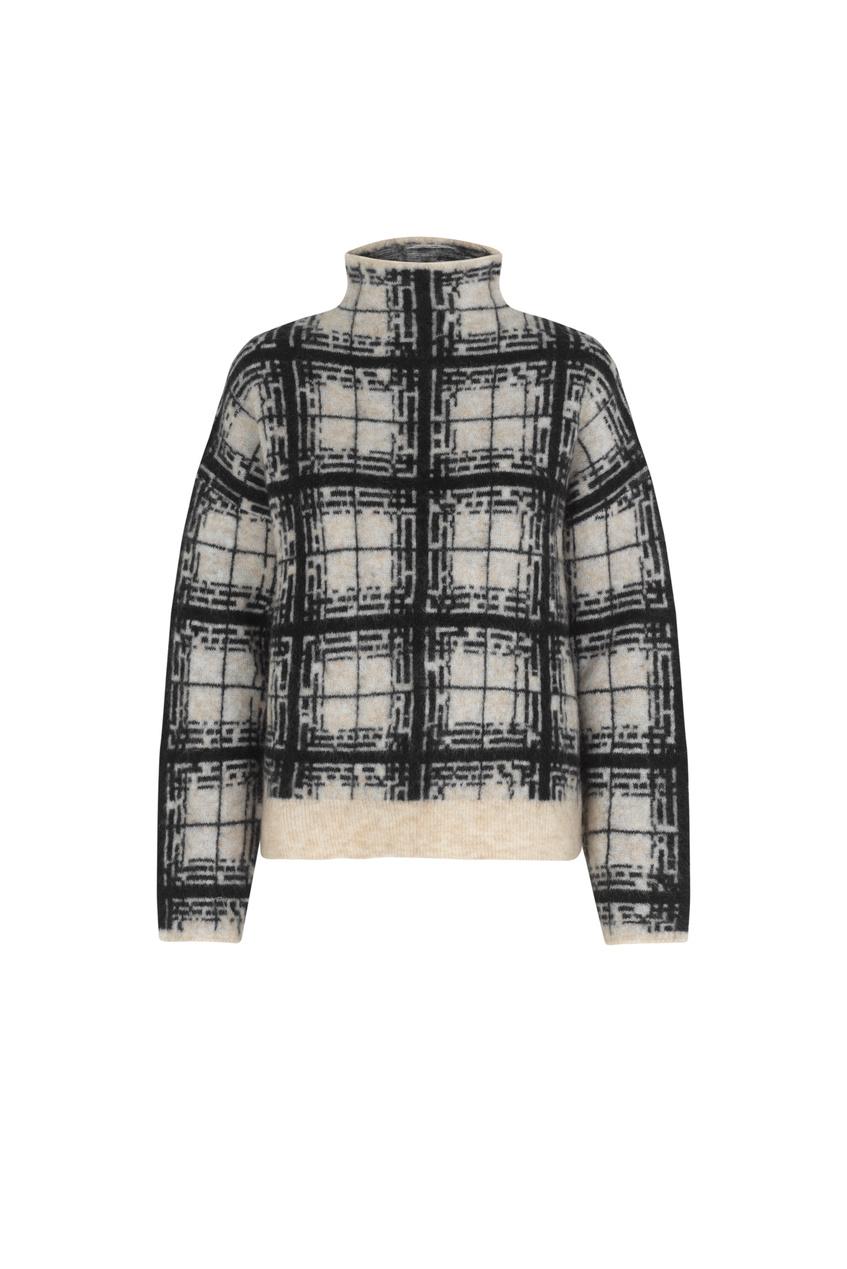 Louisa Knit T-Neck - Black-1