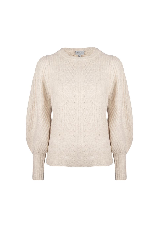 Salai Cable Sweater - Bone-1