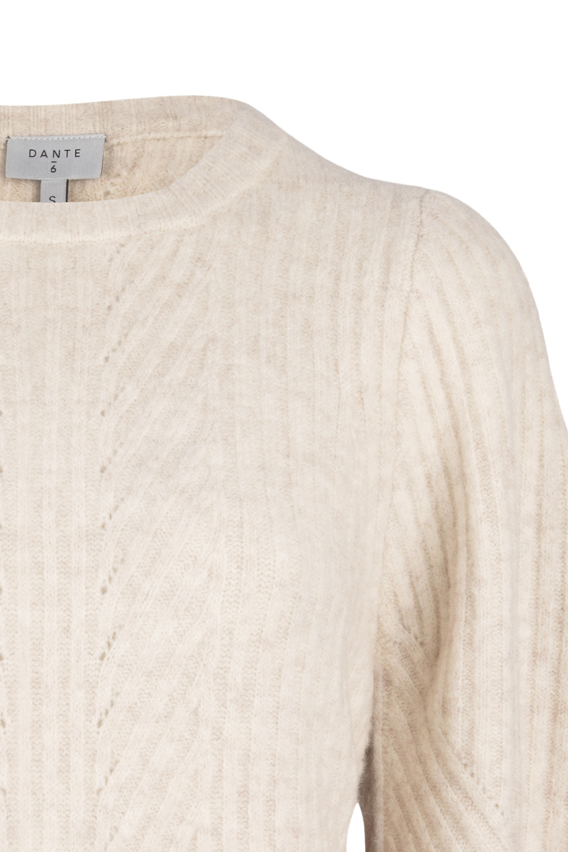 Salai Cable Sweater - Bone-4