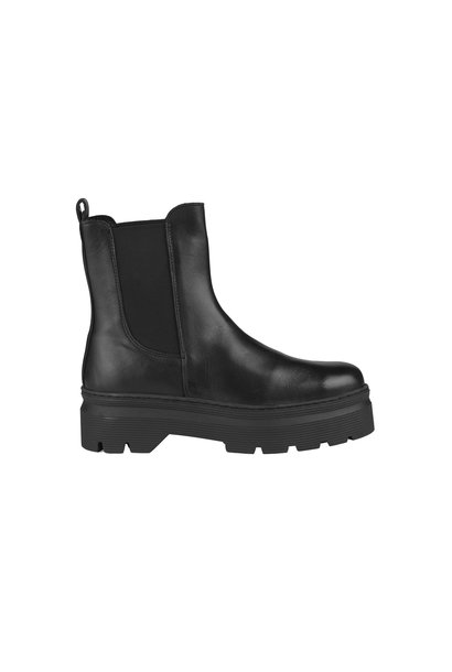 Viola Leather Boot - Black Garda