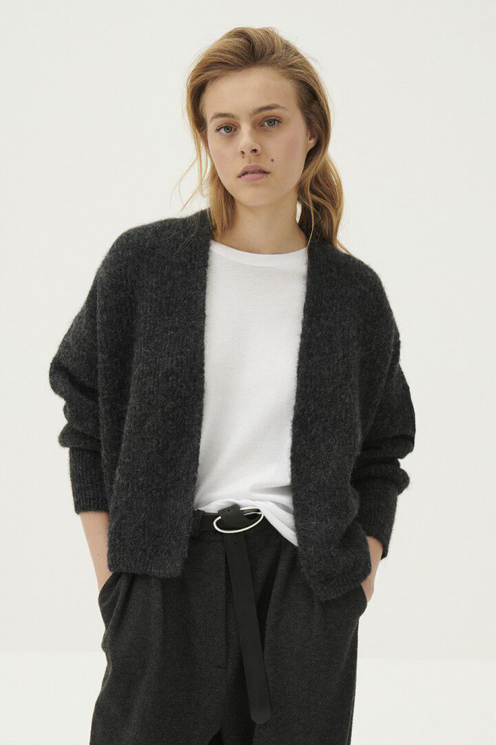 East Cardigan - Anthracite Chine-2