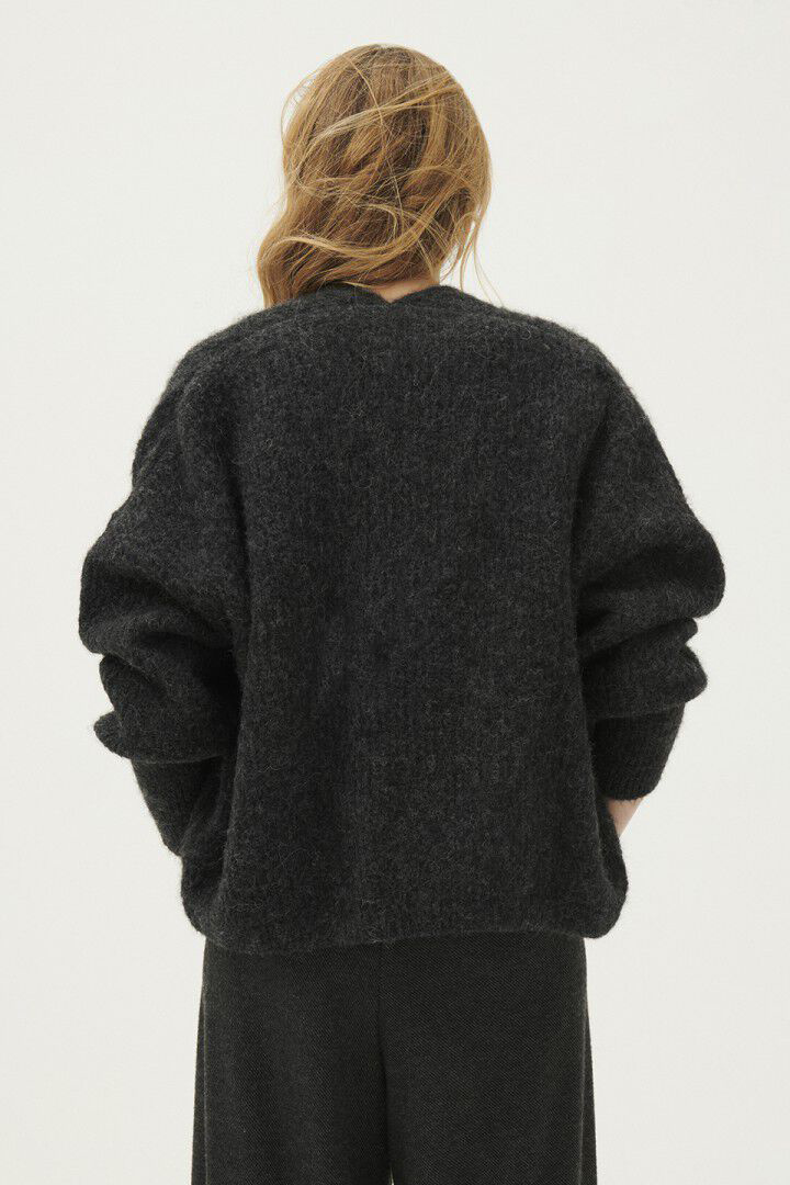 East Cardigan - Anthracite Chine-3