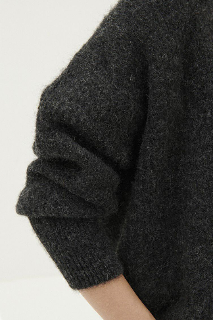 East Cardigan - Anthracite Chine-4