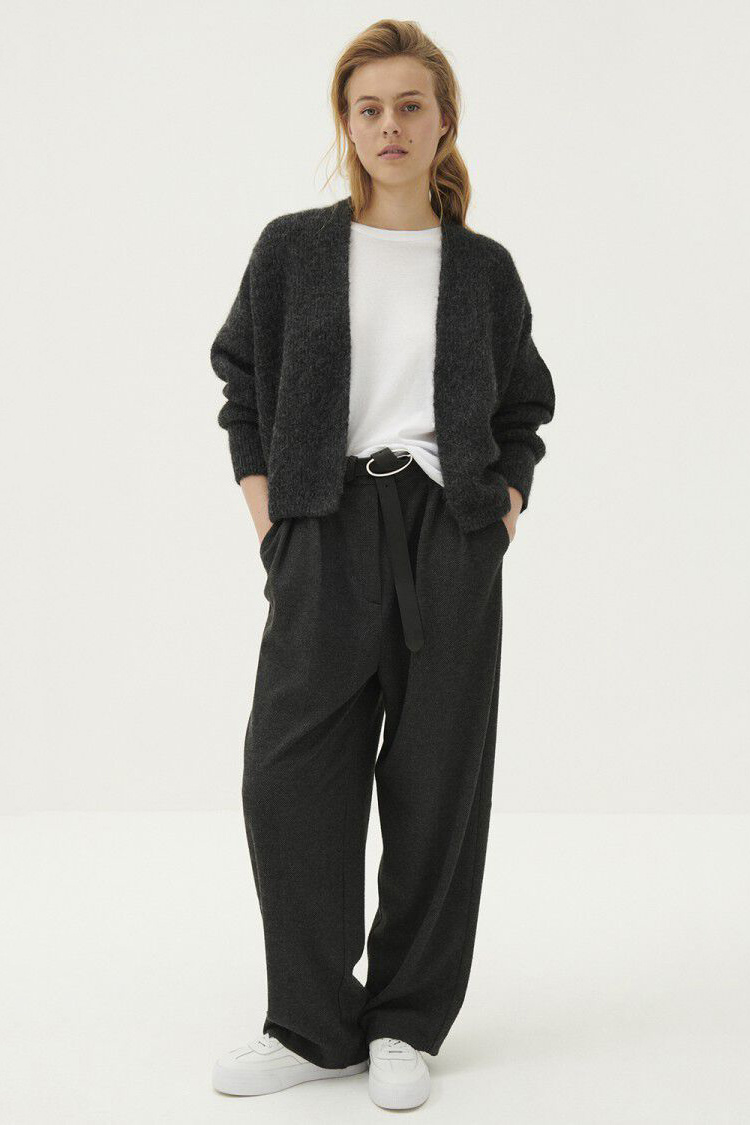 East Cardigan - Anthracite Chine-5