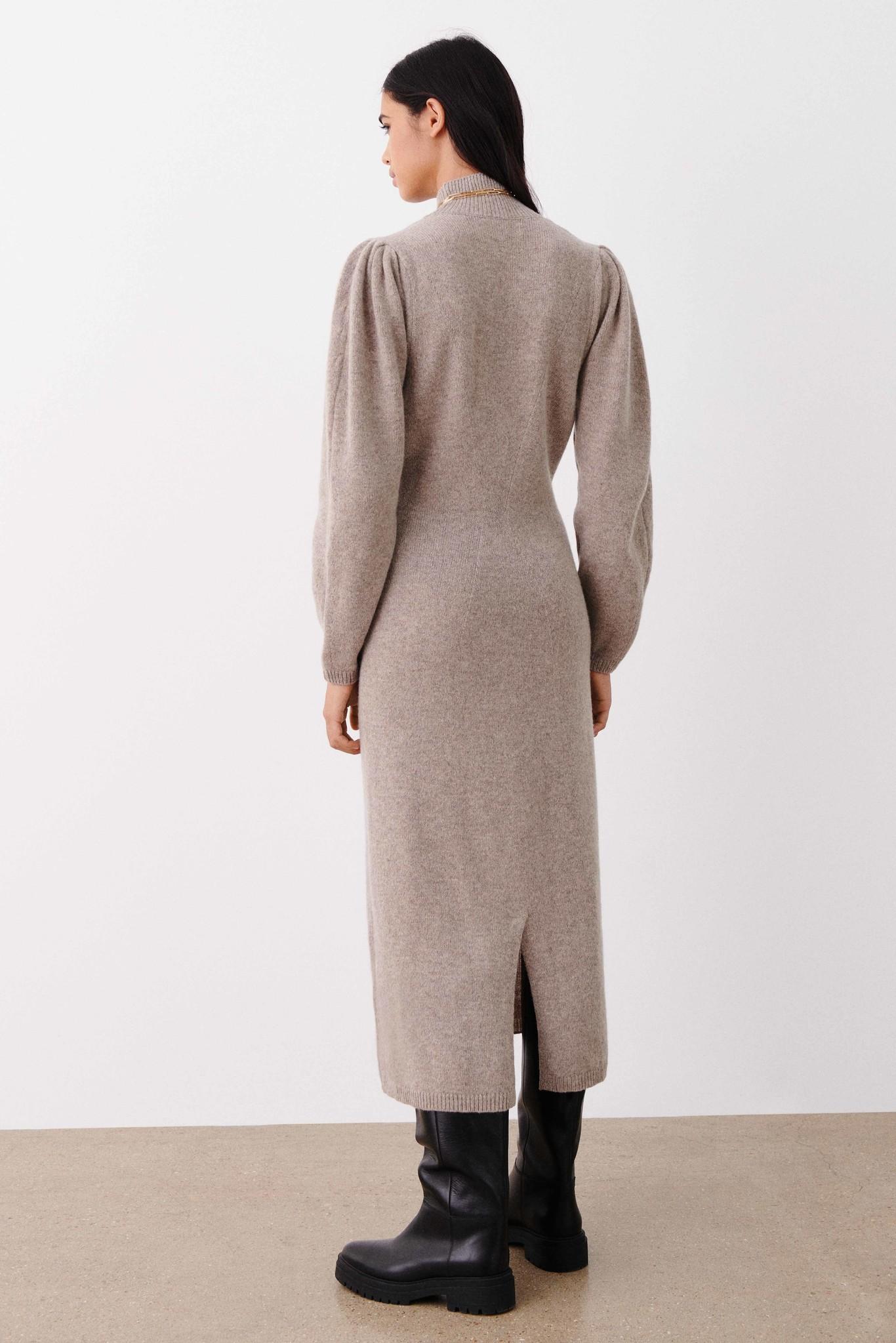 Felicity Dress - Beige-6