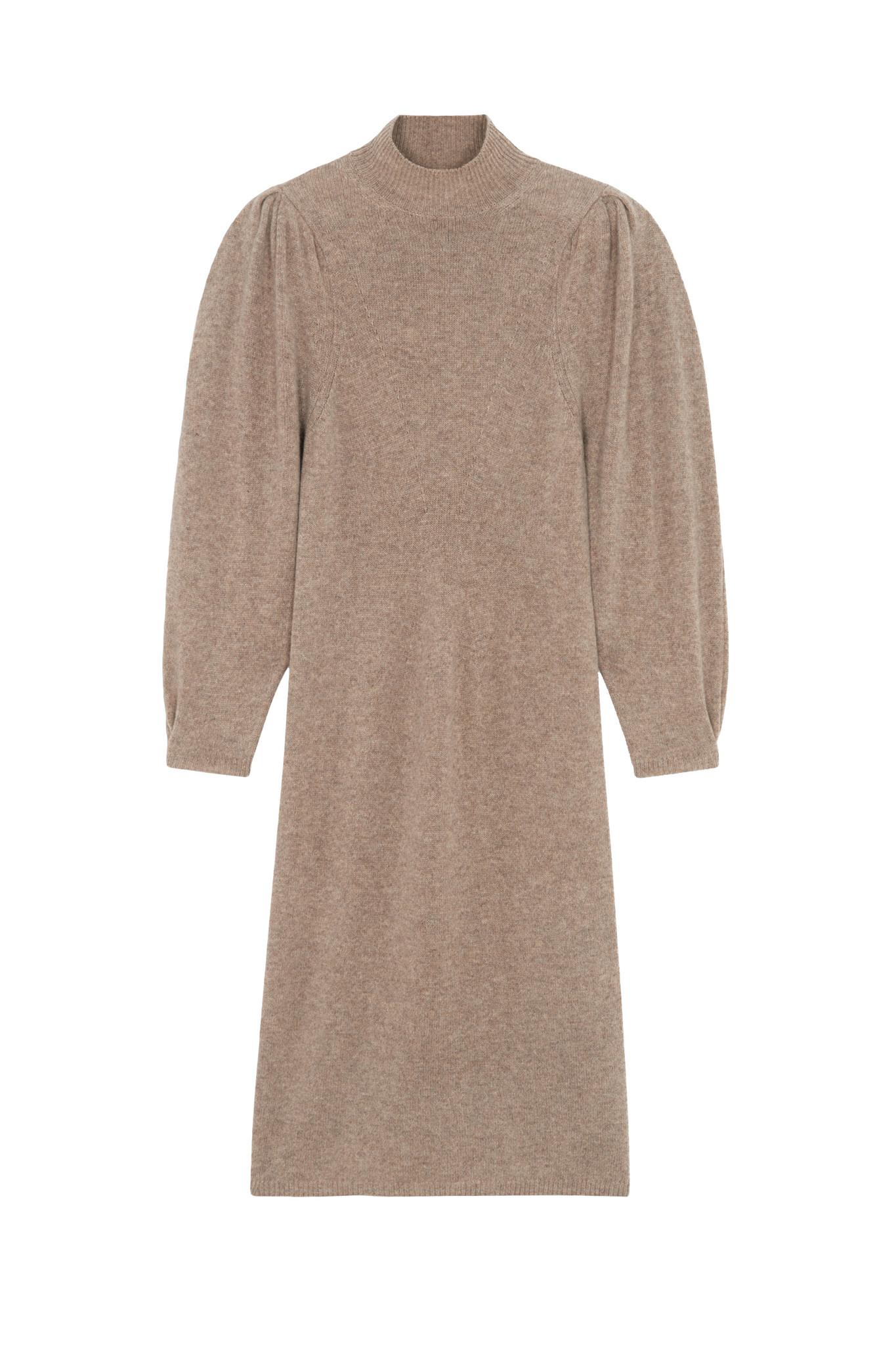 Felicity Dress - Beige-1