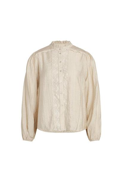 Lisissa Lace Shirt - Bone