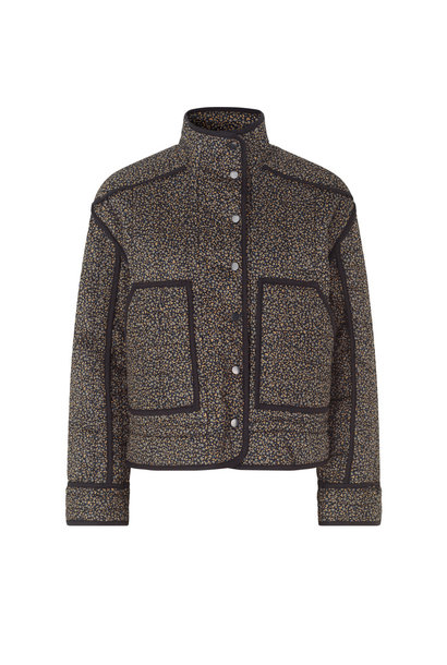 Arlinda Quilt Jacket - Black