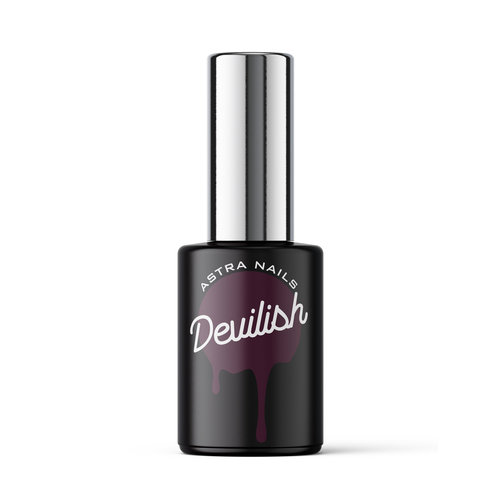 Astra Nails Astra Nails Gel Polish - Devilish 10ml