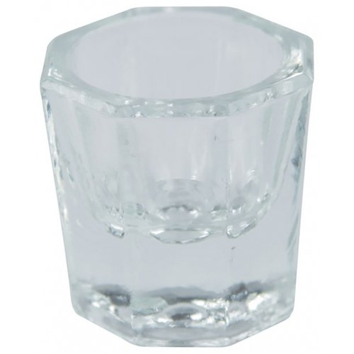Astra Nails Astra Nails Glass Dappen Dish - Clear 1pc