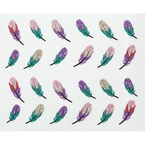 Astra Nails Astra Nails Glitter Sticker - 878 1pc