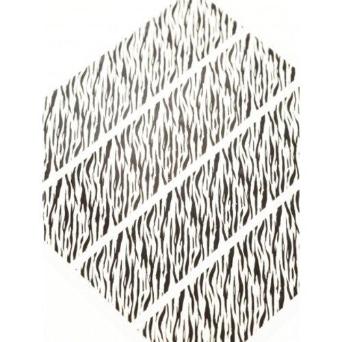 Astra Nails Astra Nails Large Nail Art Sticker - Tiger - Black 1pc