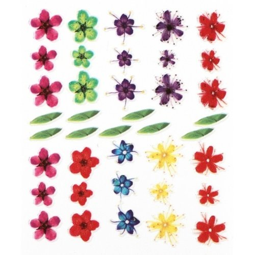 Astra Nails Astra Nails Flower Stickers - 10 1pc