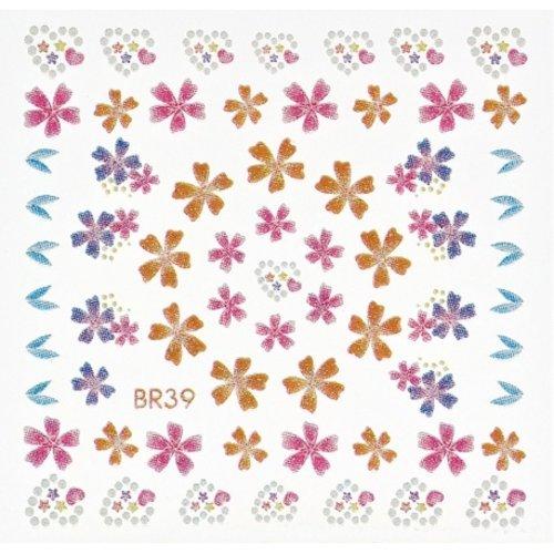 Astra Nails Astra Nails Art Sticker - B39 1pc