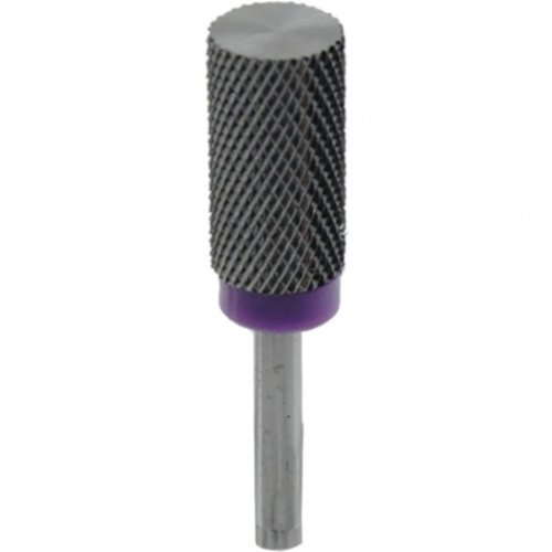Astra Nails Astra Nails Carbide Burs - Cylindrical Fine - Purple 1pc