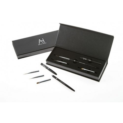 Astra Nails Astra Nails Astra Nails Brush Set Deluxe 1pc