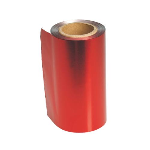 Sibel Sibel Aluminium Folie 12cm 480gr Rood 100Mt 15Mu