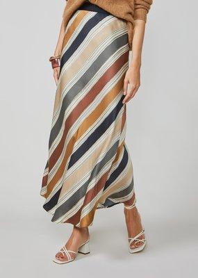 Summum Skirt printed stripe beige/brown